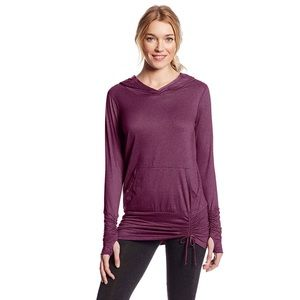 Beyond Yoga Ruched Hoodie Pullover ✨ NWT